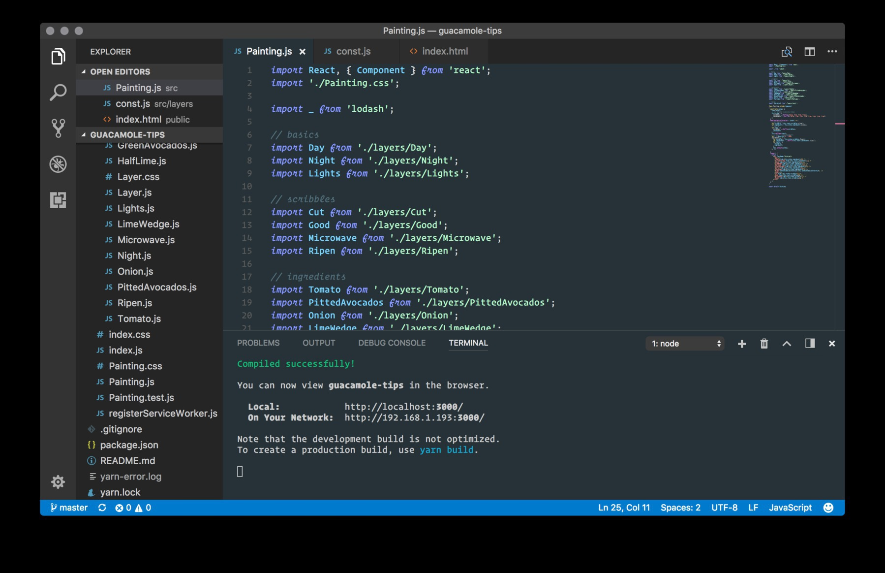 The modern man's conceptual art studio, Visual Studio Code